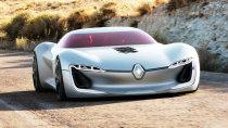 雷诺TREZOR纯电动概念车 解析设计理念