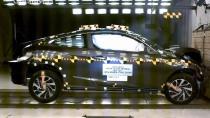 本田思域Coupe NHTSA正面碰撞测试