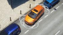 2017款福特福克斯 主动泊车系统展示