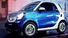 2016款smart fortwo 车身长度仅2.69米
