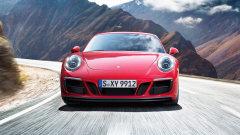 新款保时捷911 Carrera GTS 海外路试