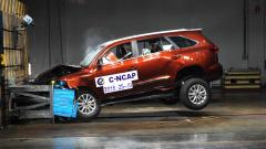 C-NCAP碰撞测试 福迪揽福获得3星评价