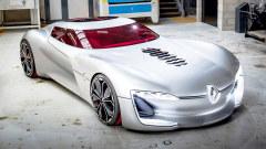 雷诺TREZOR概念车 GT跑车造型双座布局