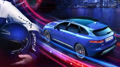 跑车SUV捷豹F-PACE 挑战360度环形跑道