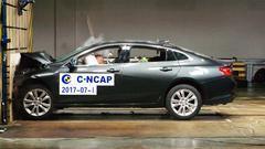 C-NCAP碰撞测试 雪佛兰迈锐宝XL获5星