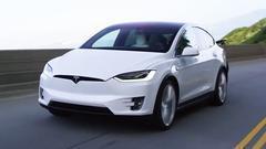 特斯拉Model X 配备双电机全轮驱动系统