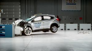 2016款本田HR-V IIHS正面40%碰撞测试