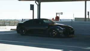 日产GT-R R35 黑暗骑士轮毂改装