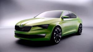 斯柯达VisionC概念车