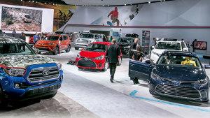 2016北美国际车展丰田汽车