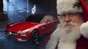 奔驰AMG GT圣诞老人座驾