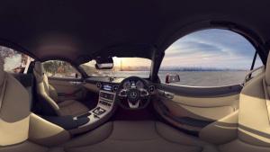 VR模拟驾驶奔驰SLC敞篷版