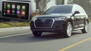 2018款奥迪Q5搭CarPlay系统