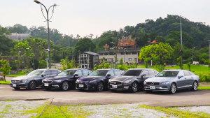 5款大中型轿车油耗对比