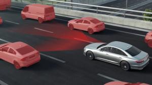 奥迪A8拥堵自动驾驶系统