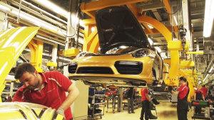 保时捷911豪车生产探秘