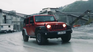 Jeep牧马人不惧极限挑战