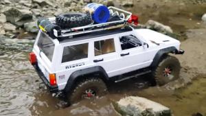 RC Jeep切诺基 涉水攀岩