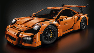 积木速拼保时捷911 GT3 RS