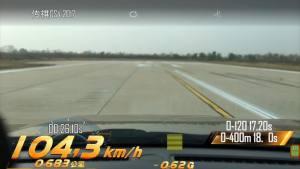 传祺GS4加速测试车内视角