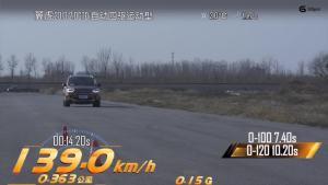 福特翼虎加速视频