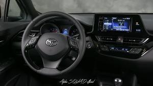 2018款丰田C-HR 细节实拍