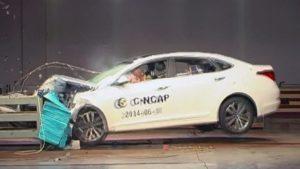 名图C-NCAP碰撞测试