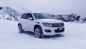 大众途观米其林轮胎 雪地严寒极端考验