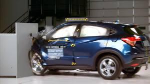 2016款本田HR-V 美国IIHS正面25%碰撞