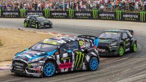 福克斯RS RX 出征世界汽车拉力锦标赛