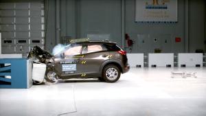2016款马自达CX-3 美国IIHS正面40%碰撞