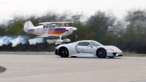 保时捷918 Spyder 竞速空中特技飞机
