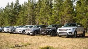 八款豪华家用SUV对比试驾