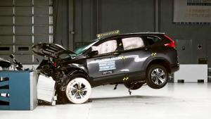 2017款本田CR-V 美国IIHS正面40%碰撞