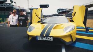 漂移大师Ken Block与福特GT相见于勒芒