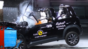 E-NCAP碰撞测试 雪铁龙E-MEHARI获三星