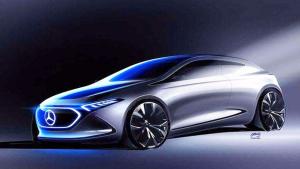 奔驰EQA概念车 最大续航达400公里