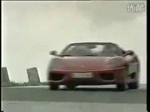 宝马Z8雪山之巅对决法拉利360 Modena