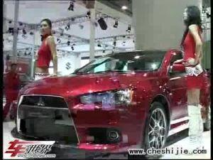 三菱重装出击第六届广州车展现场