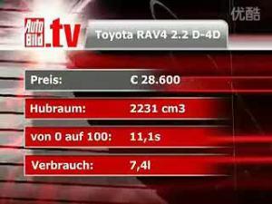 国外测试:RAV4 路虎 安德拉 途冠