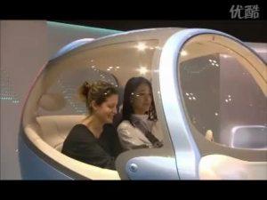 东京车展上造型可爱的日产pivo2