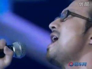 百万感恩盛典汪峰现场演唱怒放的生命