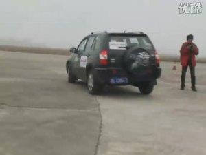 易车测试 奇瑞瑞虎转向回正测试