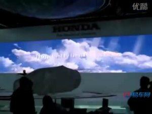 2010北京车展 本田新能源车抢先接触