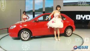 2010广州车展 比亚迪展台G3R清纯姐妹花