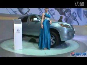 2010广州车展 吉奥SUV新车奥轩G5