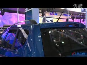 2011上海车展 长安展台CX20展示