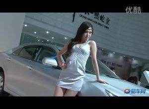 2011上海车展 华泰展台B11轿车车模