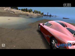 海边公路沙滩尽显Koenigsegg本色