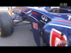 霸气外露 英菲尼迪F1赛车挑战王者
